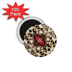 Animal Tissue And Flowers 1 75  Magnets (100 Pack)