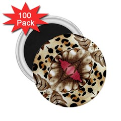 Animal Tissue And Flowers 2.25  Magnets (100 pack)