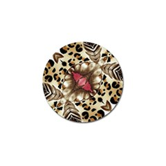 Animal Tissue And Flowers Golf Ball Marker