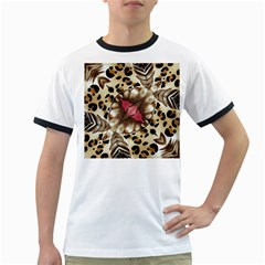 Animal Tissue And Flowers Ringer T Shirts