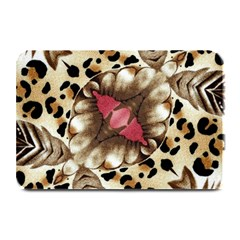 Animal Tissue And Flowers Plate Mats