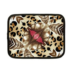 Animal Tissue And Flowers Netbook Case (small)