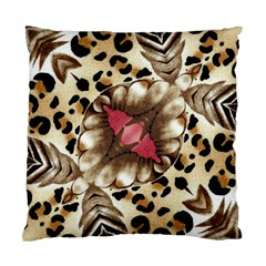 Animal Tissue And Flowers Standard Cushion Case (two Sides)