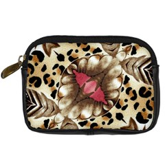 Animal Tissue And Flowers Digital Camera Cases