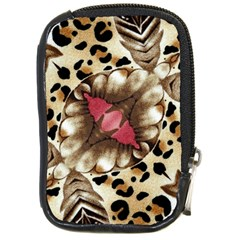 Animal Tissue And Flowers Compact Camera Cases