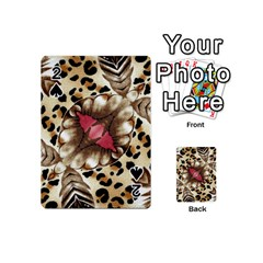 Animal Tissue And Flowers Playing Cards 54 (mini)