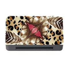 Animal Tissue And Flowers Memory Card Reader With Cf