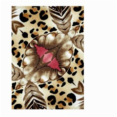 Animal Tissue And Flowers Large Garden Flag (two Sides)