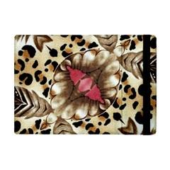 Animal Tissue And Flowers Apple iPad Mini Flip Case