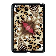 Animal Tissue And Flowers Apple Ipad Mini Case (black)