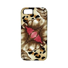 Animal Tissue And Flowers Apple Iphone 5 Classic Hardshell Case (pc+silicone)