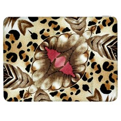 Animal Tissue And Flowers Samsung Galaxy Tab 7  P1000 Flip Case
