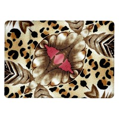 Animal Tissue And Flowers Samsung Galaxy Tab 10 1  P7500 Flip Case