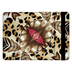 Animal Tissue And Flowers Samsung Galaxy Tab Pro 12 2  Flip Case