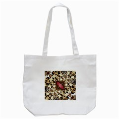Animal Tissue And Flowers Tote Bag (white)