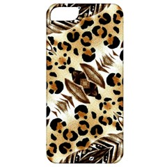 Background Fabric Animal Motifs And Flowers Apple Iphone 5 Classic Hardshell Case