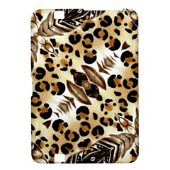 Background Fabric Animal Motifs And Flowers Kindle Fire Hd 8 9