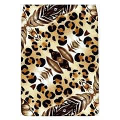 Background Fabric Animal Motifs And Flowers Flap Covers (l)