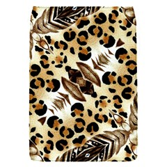 Background Fabric Animal Motifs And Flowers Flap Covers (s)