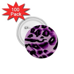 Background Fabric Animal Motifs Lilac 1 75  Buttons (100 Pack)