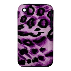 Background Fabric Animal Motifs Lilac iPhone 3S/3GS