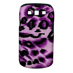 Background Fabric Animal Motifs Lilac Samsung Galaxy S Iii Classic Hardshell Case (pc+silicone)