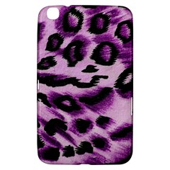 Background Fabric Animal Motifs Lilac Samsung Galaxy Tab 3 (8 ) T3100 Hardshell Case