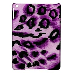 Background Fabric Animal Motifs Lilac iPad Air Hardshell Cases
