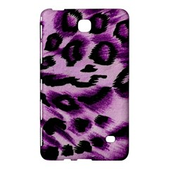 Background Fabric Animal Motifs Lilac Samsung Galaxy Tab 4 (8 ) Hardshell Case