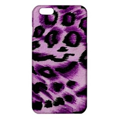 Background Fabric Animal Motifs Lilac Iphone 6 Plus/6s Plus Tpu Case