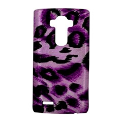 Background Fabric Animal Motifs Lilac Lg G4 Hardshell Case