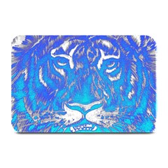 Background Fabric With Tiger Head Pattern Plate Mats