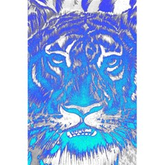 Background Fabric With Tiger Head Pattern 5 5  X 8 5  Notebooks