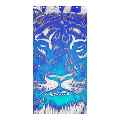 Background Fabric With Tiger Head Pattern Shower Curtain 36  X 72  (stall)