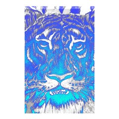 Background Fabric With Tiger Head Pattern Shower Curtain 48  x 72  (Small)
