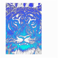 Background Fabric With Tiger Head Pattern Large Garden Flag (two Sides)