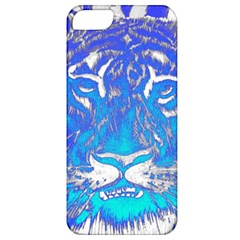 Background Fabric With Tiger Head Pattern Apple Iphone 5 Classic Hardshell Case