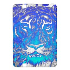 Background Fabric With Tiger Head Pattern Kindle Fire Hd 8 9