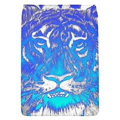 Background Fabric With Tiger Head Pattern Flap Covers (s)