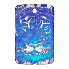 Background Fabric With Tiger Head Pattern Samsung Galaxy Note 8 0 N5100 Hardshell Case