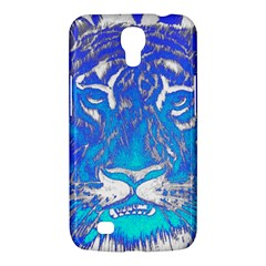 Background Fabric With Tiger Head Pattern Samsung Galaxy Mega 6 3  I9200 Hardshell Case
