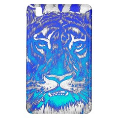 Background Fabric With Tiger Head Pattern Samsung Galaxy Tab Pro 8 4 Hardshell Case