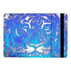 Background Fabric With Tiger Head Pattern Samsung Galaxy Tab Pro 10 1  Flip Case