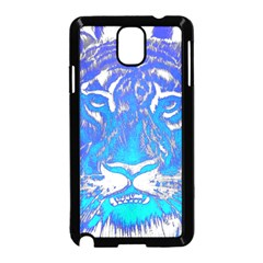 Background Fabric With Tiger Head Pattern Samsung Galaxy Note 3 Neo Hardshell Case (black)