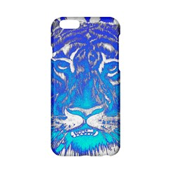 Background Fabric With Tiger Head Pattern Apple Iphone 6/6s Hardshell Case
