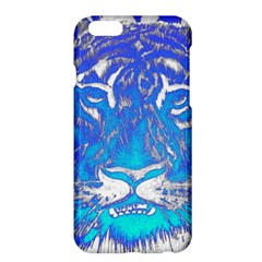 Background Fabric With Tiger Head Pattern Apple Iphone 6 Plus/6s Plus Hardshell Case