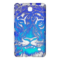Background Fabric With Tiger Head Pattern Samsung Galaxy Tab 4 (7 ) Hardshell Case