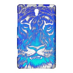 Background Fabric With Tiger Head Pattern Samsung Galaxy Tab S (8.4 ) Hardshell Case