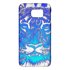Background Fabric With Tiger Head Pattern Galaxy S6