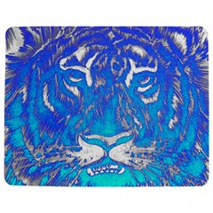 Background Fabric With Tiger Head Pattern Jigsaw Puzzle Photo Stand (Rectangular)
